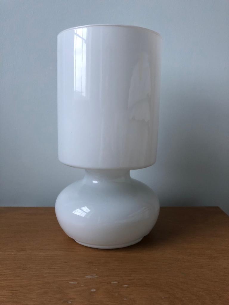 Ikea White Glass Table Lamps In Banbridge County Down Gumtree