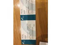 Busted concert tickets