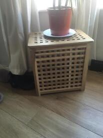Medium wooden storage box