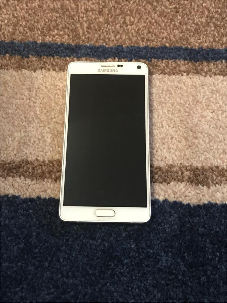 Samsung galaxy note 4. Unlocked mint condition £175 fixed price