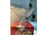 Brand new large SOGA decorative glass bowl/trifle.