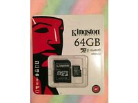 Job lots Samsung Pro 32GB, 64GB and Kingston 32GB, 64GB CLASS 10 Micro SD card retail packing