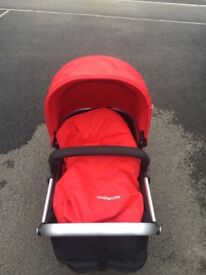 Pram and car seat (mothercare -Red)