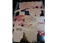 Big (106 items) baby girl clothes bundle Newborn to 0-3 months