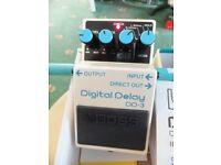 BOSS DD3 Digital Delay Pedal MINT CONDITION
