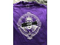 Disney Villains Evil Queen Tshirt Purple Large