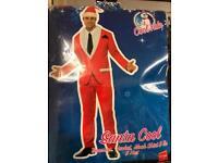 Santa Claus style smart suit. Size L.