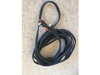 Various Audio Visual Microphone Cables RCA Phono XLR HDMI USB Telephone VGA