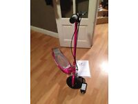 Razor E100 Electric Scooter Pink Complete With Charger And Instructions