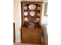 Quality Vintage Waxed Solid Pine Dresser