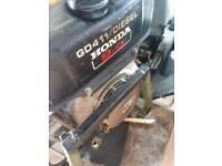 Honda gd411 diesel power washer