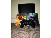 Playstation 3 500GB / 1 Controller and 4 Games