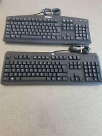 Desktop PC keyboard Dell HP