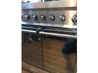 SMEG Chrome Range cooker