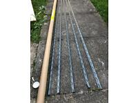 5 x Angle beads for plastering £8