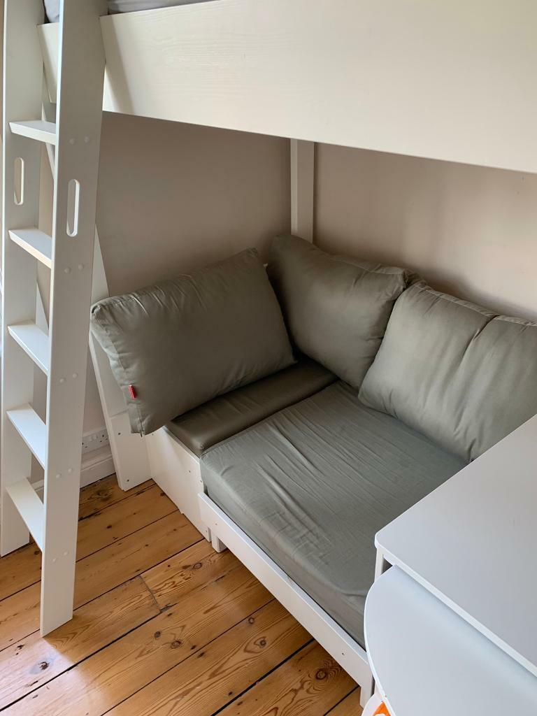 Swell Stompa Casa 4 High Sleeper With Sofa Bed Pull Out Desk Cube Unit In St Ives Cambridgeshire Gumtree Forskolin Free Trial Chair Design Images Forskolin Free Trialorg