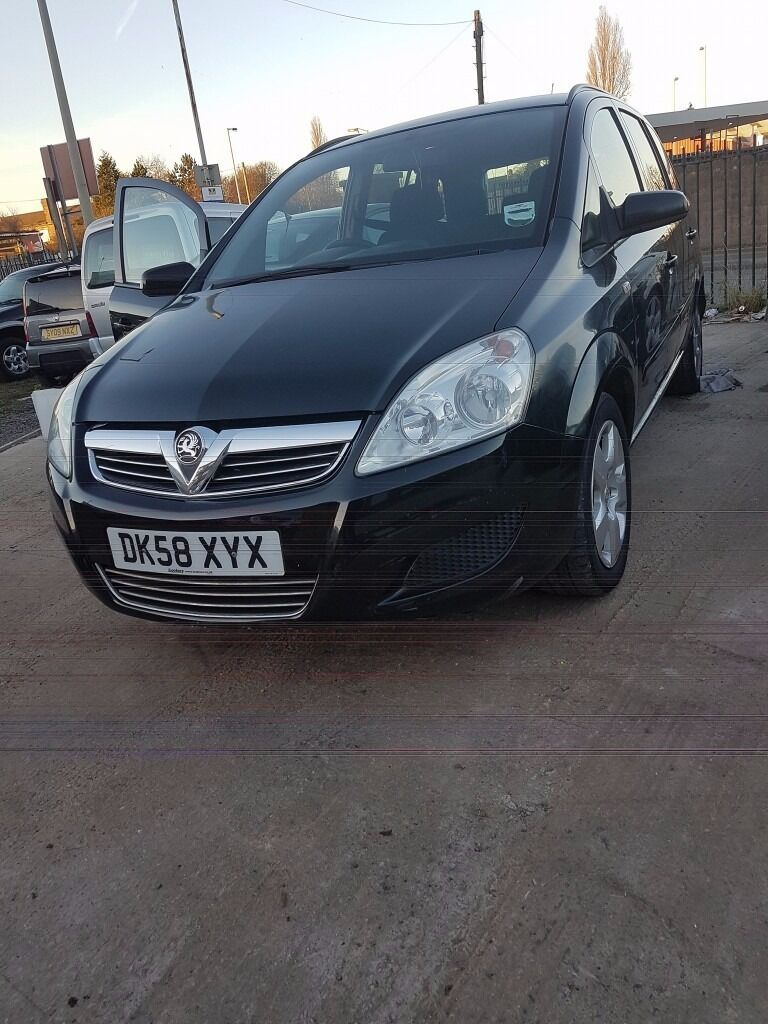 Vauxhall Zafira 1.6LONG MOT, DRIVES 100%