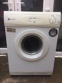 White knight 6 kilo vented dryer