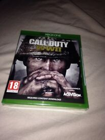 Xbox one call of duty ww2 brand new unopened