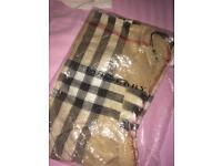Burberry scarf - real with bag & tags