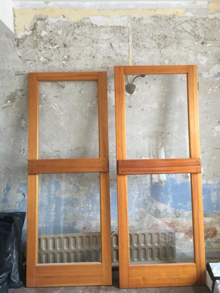 Glass Door x 2