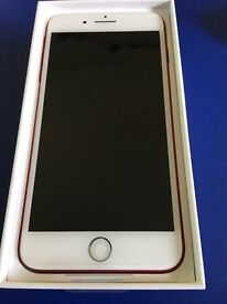 Iphone 7 Plus - RED - As new condition 128GB REDUCED