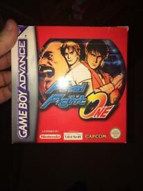 Final fight one Gameboy advance game