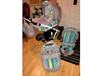 Travel sistem pushchair