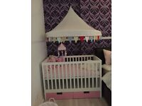 Ikea cot used mattress if needed £20 pick up only