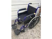 Foldable wheel chair good condition
