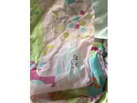 Pillow duvet and sheets Toddler Size Girls