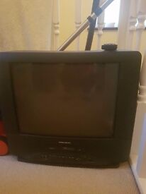 tv with built in video recorder
