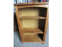 pine book shelves