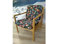 Blonde Ercol chair model 773