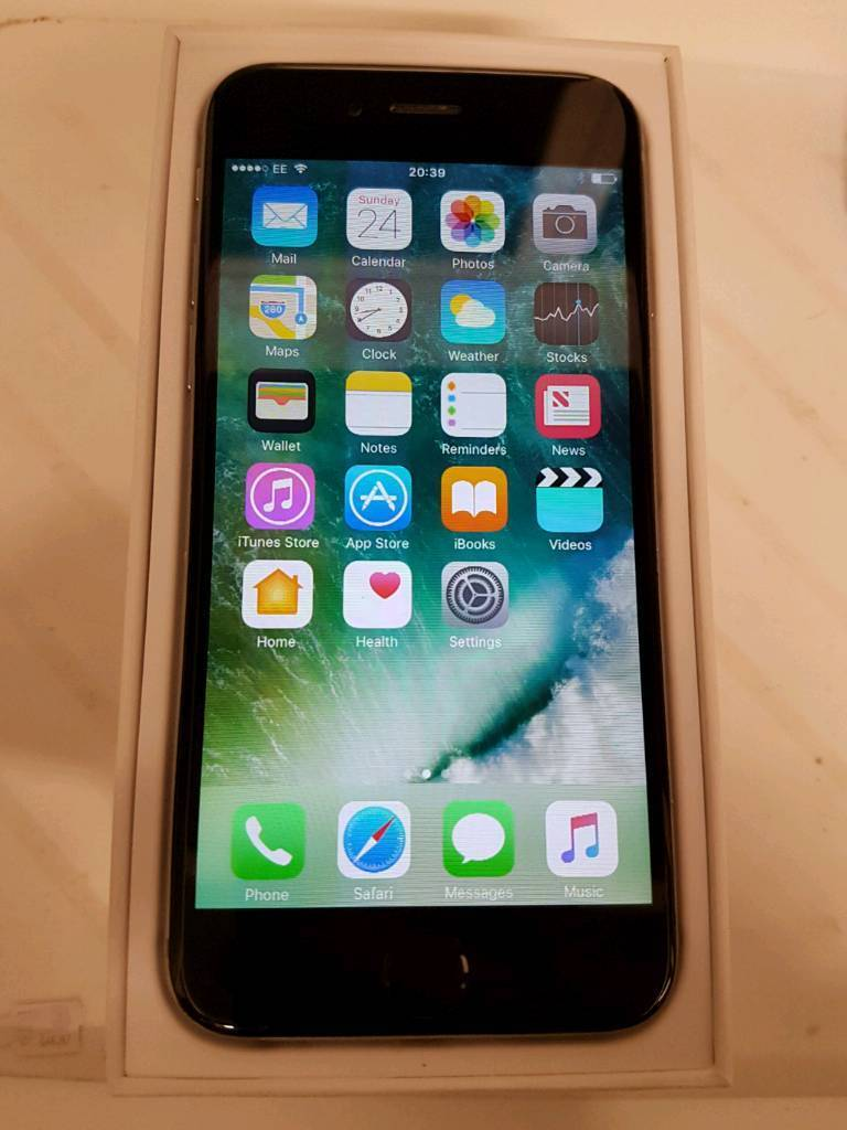 Iphone 6 space grey unlocked boxed