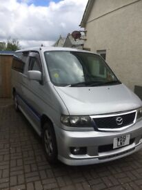 Mazda Bongo MPV 8 seater camper van camper with tent and camping equipment Ready to get in and go