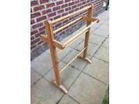 Freestanding Wooden original towel rail