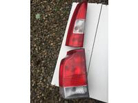 Volvo V70 2005 left hand rear light cluster
