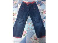 Vertbaudet Jean with lining (2 - 3 years)