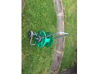 Hozelock large hose reel holds 50m of hose