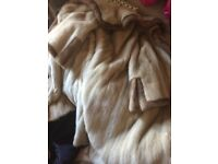 Stunning Genuine Mink Fur coat