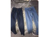 Topshop Joni jeans blue