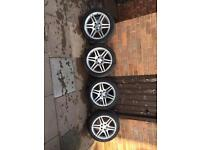 Mercedes c class amg alloy wheels