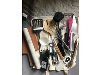 Bag of Assorted Essential Kitchen Utensils