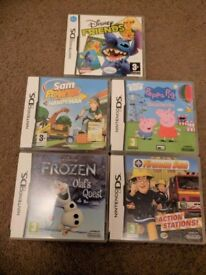 DS games x 5