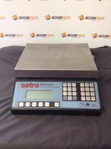 Balance compteuse Setra Super count counting scale