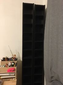 CD storage units x2 (IKEA Gnedby)