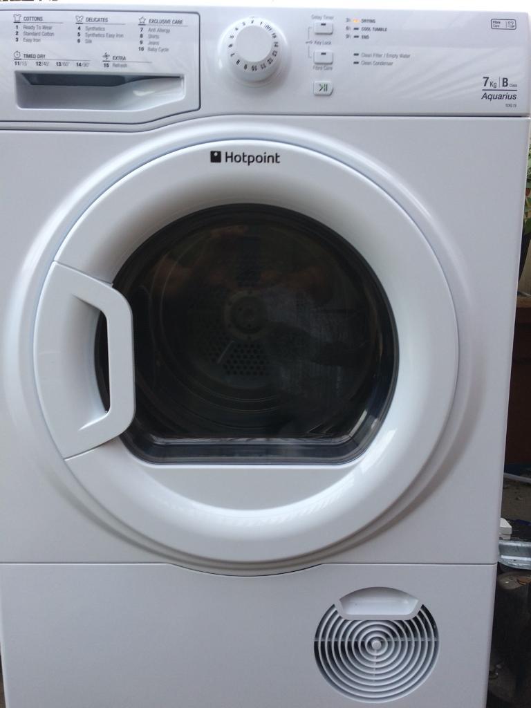 Hotpoint 7kg condenser tumble dryer