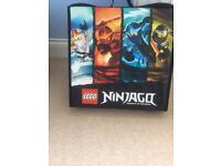 Lego NinJago case and accessories
