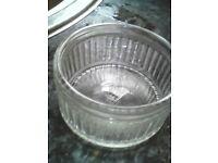 11 x Glass Ramekin dishes.